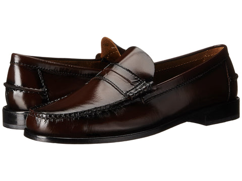 Florsheim Mens Berkley Penny Loafer-Burgundy - Bennett's Clothing - 1