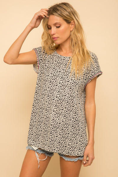 Hem and Thread Animal Print Boxy Tee will take your basics to the next level. Shop Bennett's for the latest fashion and best customer service, shipped same day to your front door.