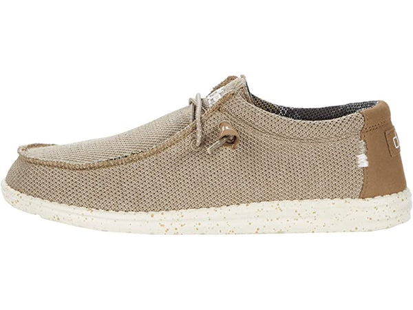 Hey Dude Wally Sox Slip-on Shoe-Sand