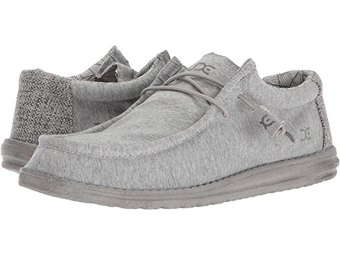 Hey Dude Wally Fleece slip-on shoes takes comfort to a whole new level.  Shop Bennett's Clothing for the brands you want and the customer service you deserve.