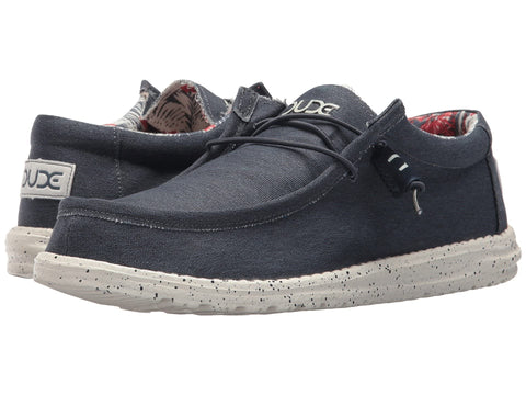 Hey Dude Wally Stretch slip-on shoes compliment your casual looks and offer maximum comfort. Shop Bennett's Clothing for the brands you want and the customer service you deserve.