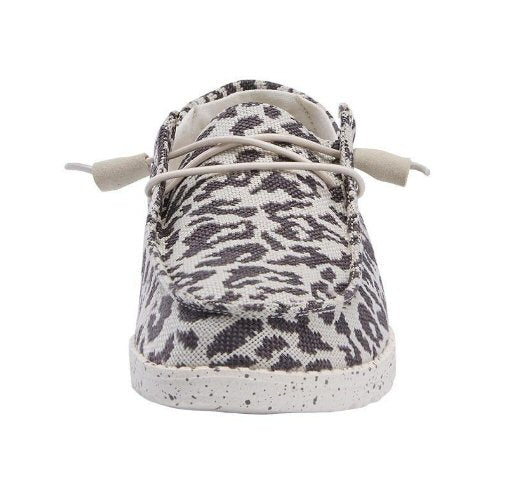 Hey Dude Wendy Jungle Slip-on Shoe-Cheetah Grey
