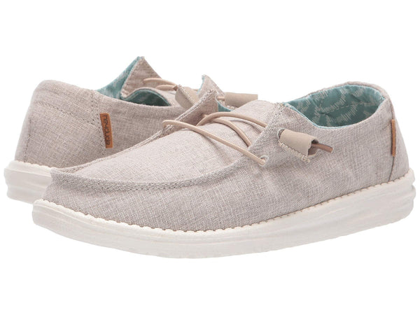 Hey Dude Wendy slip-on shoes for women compliment your casual looks and offer maximum comfort. Shop Bennett's Clothing for the brands you want and the customer service you deserve.