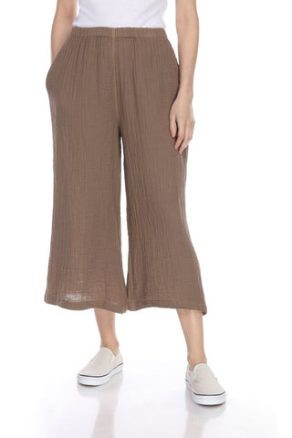 Honest Cotton Palazzo Crop Pant is lightweight, laid back and perfect for wine time or anytime. Shop Bennett's for the brands you love shipped same day to your front door.