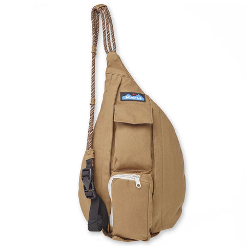 Kavu Mini Rope Bag is the perfect size to keep everything stored and handy when adventure calls. Shop Bennett's for the outdoor brands you love with the service you deserve.