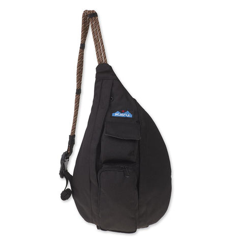 Kavu Mini Rope Sling bag is the perfect size to keep everything stored and handy when adventure calls. Shop Bennett's for the outdoor brands you love with the service you deserve.