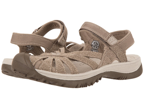 KEEN Women's Rose Sandals-Brindle/Shitake