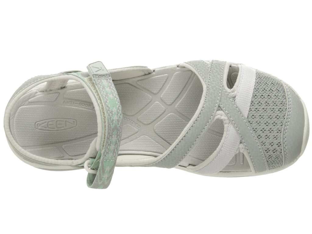 fb81853c259 KEEN Womens Sage Ankle Sandal-Neutral Gray Malachite – Bennett s ...