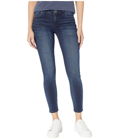 Kut from the Kloth Connie Ankle Skinny jeans fit great and always in-style. Shop Bennetts Clothing for a large selection of Kut Jeans at a great price.