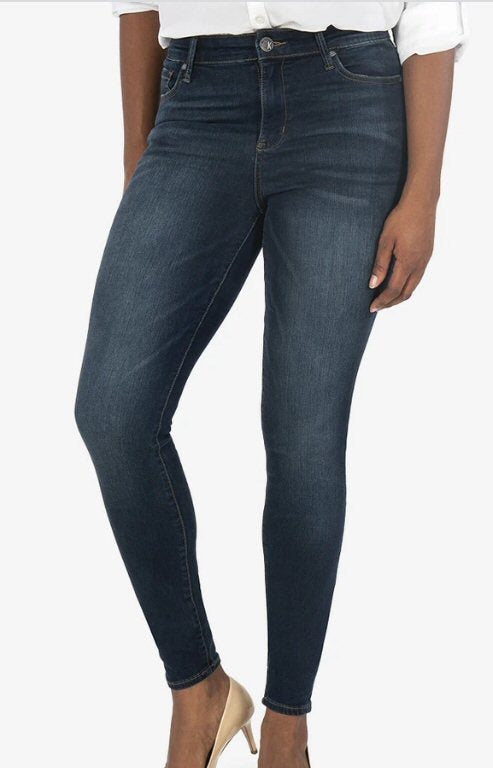 Kut Mia Jean with slim-skinny fit look and feel amazing. Shop Bennett's for a large selection of women's clothing shipped same day to your front door.