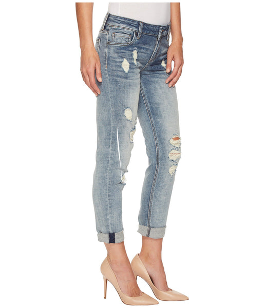 Kut from the Kloth Catherine Boyfriend Wide Cuff Jean-Characterized