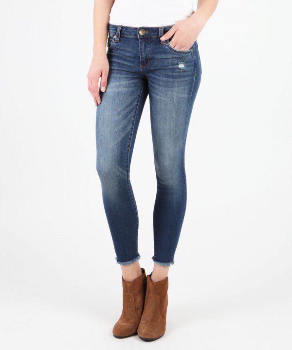 Kut from the Kloth Connie Ankle Skinny Jean-Harmonic Wash
