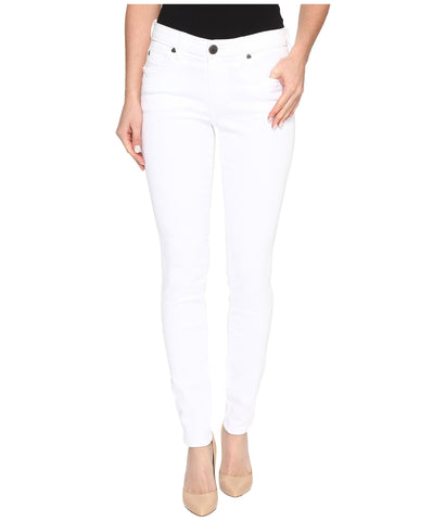 KUT from the Kloth Mia Toothpick Skinny Jean-Opic White