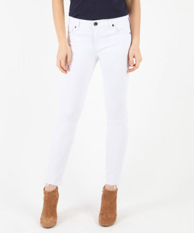 Kut from the Kloth Reese Ankle Jean-Optical White - Bennett's Clothing - 1