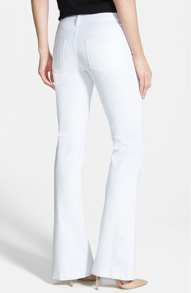 Kut from the Kloth Chrissy Flare Leg Jeans-White - Bennett's Clothing - 2