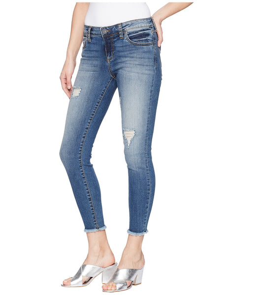 Kut Connie Ankle Skinny Jean-Galvanized