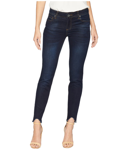 Kut Connie Ankle Skinny Jean with Fray Hem -Shop Bennetts Clothing for a large selection of Kut from the Kloth jeans