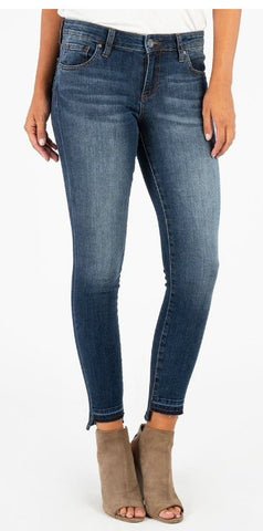 Kut Connie Ankle Skinnys with Step Hem -Shop Bennetts Clothing for a large selection of Kut from the Kloth jeans
