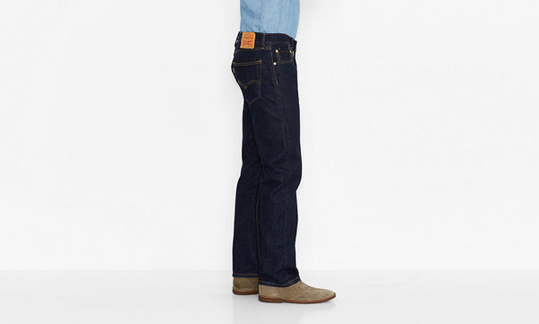 Levi's Men's 505 Straight Leg Jeans-Rinse - Bennett's Clothing - 2