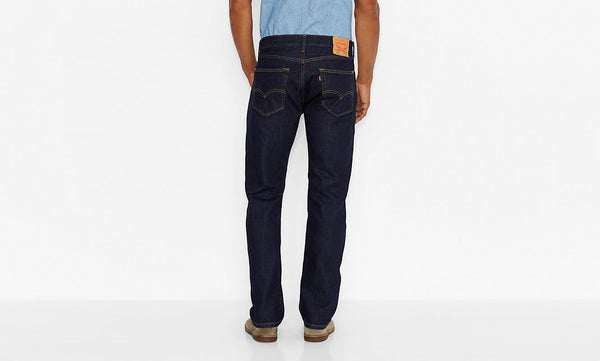 Levi's Men's 505 Straight Leg Jeans-Rinse - Bennett's Clothing - 3