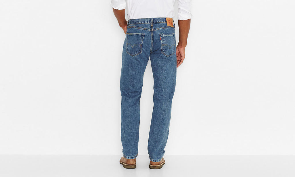 366da654 ... Levi's Men's 505 Straight Leg Jeans -Medium Stonewash - Bennett's ...
