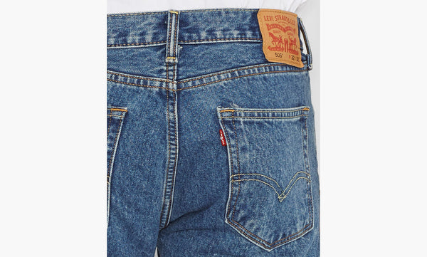 Levi's Men's 505 Straight Leg Jeans -Medium Stonewash - Bennett's Clothing - 5