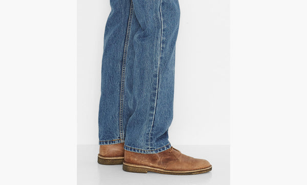 Levi's Men's 505 Straight Leg Jeans -Medium Stonewash - Bennett's Clothing - 6
