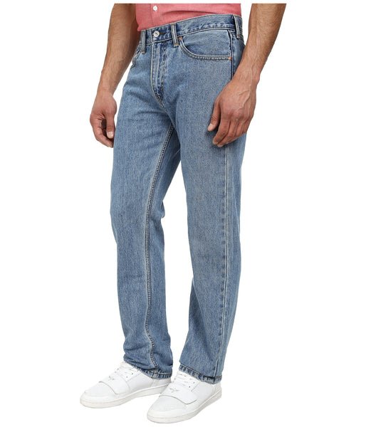 Levi's Men's 505 Straight Leg Jeans -Light Stonewash - Bennett's Clothing - 2