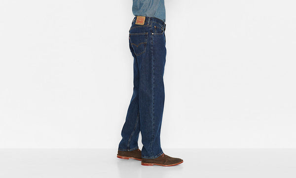 Levi's Men's 550 Relaxed Fit Jean-Dark Stonewash - Bennett's Clothing - 2