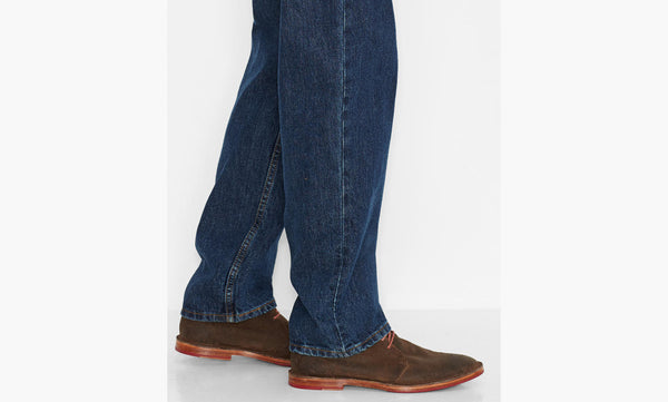 Levi's Men's 550 Relaxed Fit Jean-Dark Stonewash - Bennett's Clothing - 6