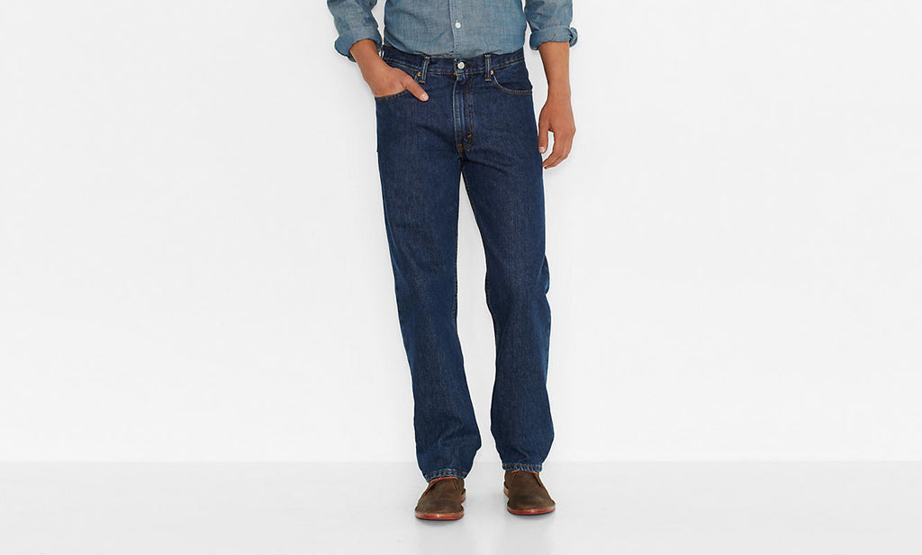 Levi's Men's 550 Relaxed Fit Jean-Dark Stonewash - Bennett's Clothing - 1