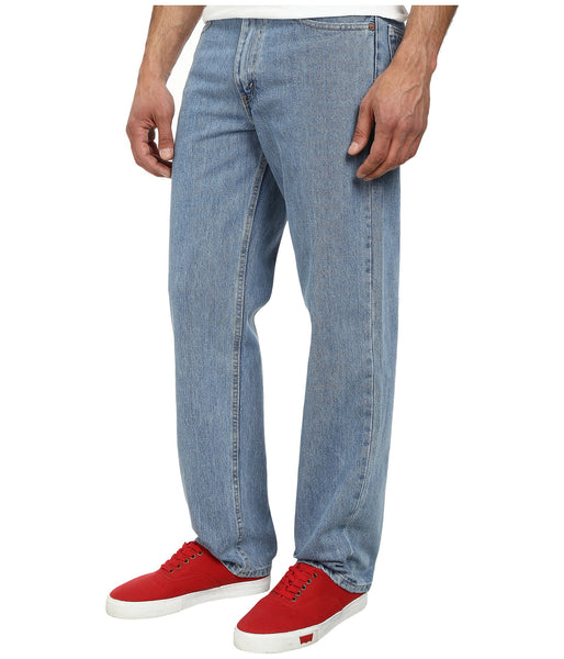 Levi's Men's 550 Relaxed Fit Jean-Light Stonewash - Bennett's Clothing - 2