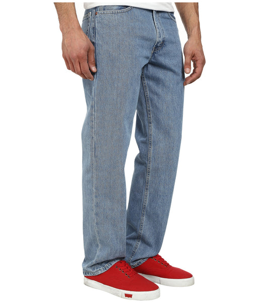 Levi's Men's 550 Relaxed Fit Jean-Light Stonewash - Bennett's Clothing - 4