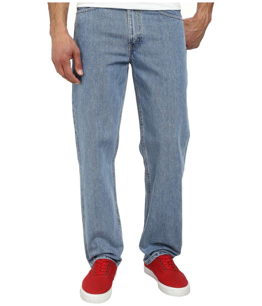 Levi's Men's 550 Relaxed Fit Jean-Light Stonewash - Bennett's Clothing - 1