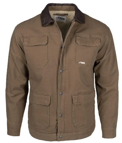 Mountain Khakis Ranch Shearling Jacket will keep you warm on the coldest days ahead. Shop Bennetts Clothing for only the best in name brand menswear with same day shipping