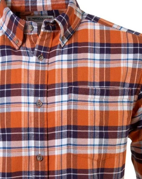 Mountain Khakis Downtown Flannel Shirt-Terracotta