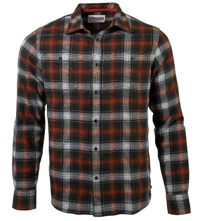 Mountain Khakis Saloon Flannel Plaid Shirt looks good in Jackson Hole or your local watering hole. Shop Bennetts Clothing for only the best in name brand menswear with same day shipping