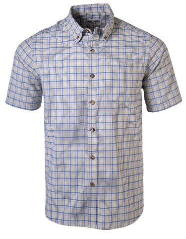 Mountain Khakis Spalding Gingham Shirt looks good in Jackson Hole or your local watering hole. Shop Bennetts Clothing for only the best in name brand menswear with same day shipping