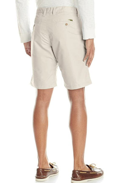 Mountain Khakis Stretch Poplin Slim Fit Short-Oatmeal