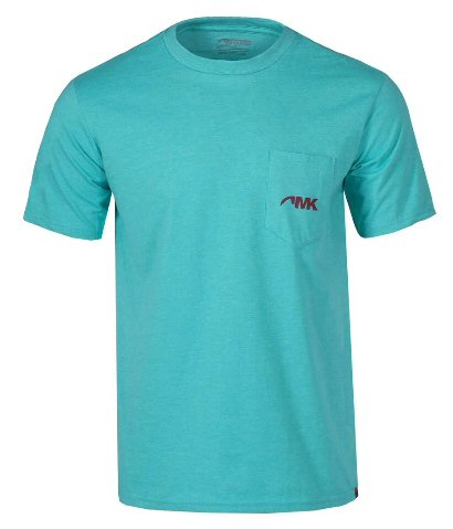 Mountain Khakis Pocket Logo t-shirt is certified organic cotton that's perfect for chilling at your favorite water hole. Shop Bennetts Clothing for only the best in name brand menswear with same day shipping