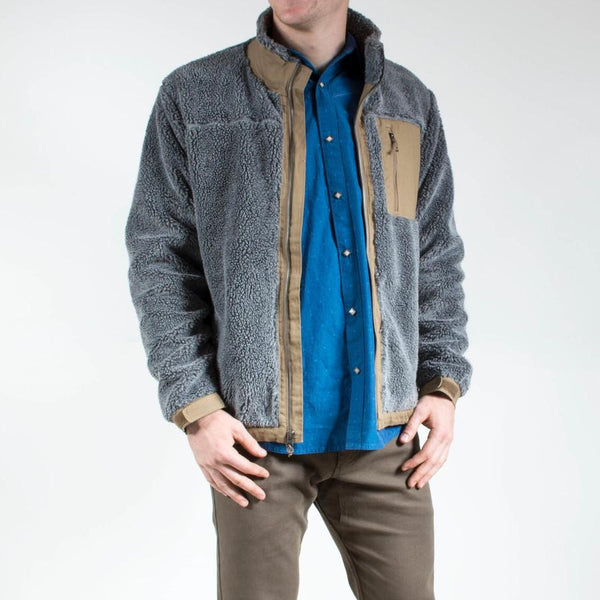 Mountain Khakis Fourteener Fleece Jacket-Gunmetal