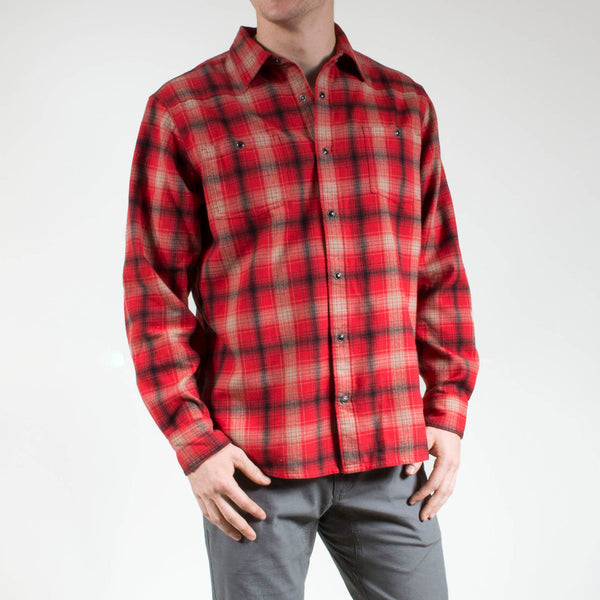 Mountain Khakis Saloon Plaid Flannel Shirt -Shop Bennetts Clothing for only the best in name brand menswear with same day shipping
