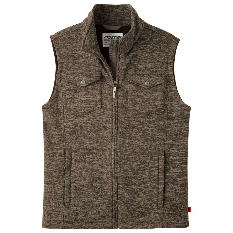 Mountain Khakis Old Faithful Vest is handy for the trail -Shop Bennetts Clothing for only the best in name brand menswear with same day shipping