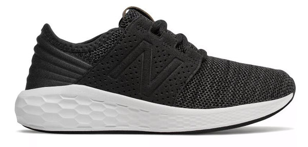 New Balance Kids Cruz V2 Fresh Foam Shoe-Magnet-Black