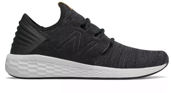 New Balance Mens MCRUZV2 Fresh Foam Shoe-Black-Magnet