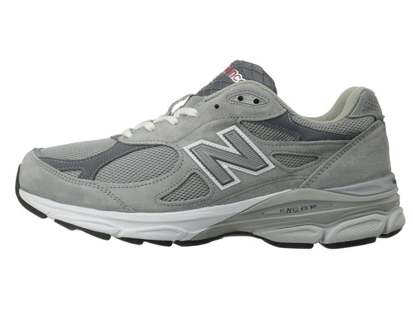 New Balance M990v3 Running Shoe-Grey - Bennett's Clothing - 2