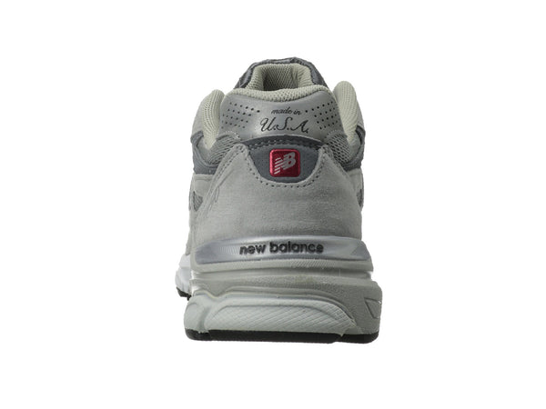 New Balance M990v3 Running Shoe-Grey - Bennett's Clothing - 3
