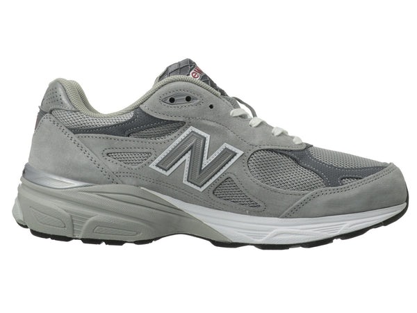 New Balance M990v3 Running Shoe-Grey - Bennett's Clothing - 4