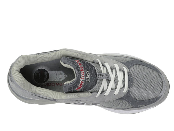 New Balance M990v3 Running Shoe-Grey - Bennett's Clothing - 6