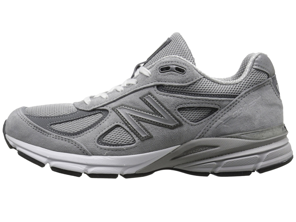 new arrival f737b 69910 New Balance Mens 990V4 Running Shoe-Grey/Castlerock NEW